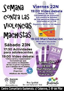 Semana contra las violencias machistas